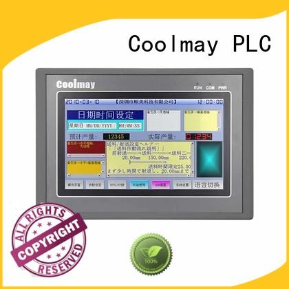 Coolmay allinone low cost hmi for textile machinery