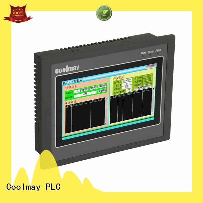 plc with screen for power equipment Coolmay