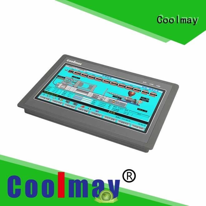 Coolmay Brand touch screen external efficient PLC HMI all in one