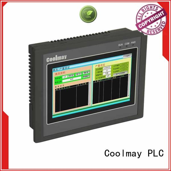 Coolmay color hmi plc all in one manufacturer for packaging machinery