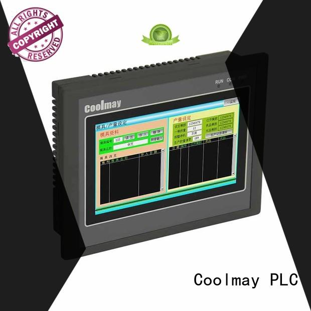 touch screen PLC HMI all in one coolmay Coolmay company