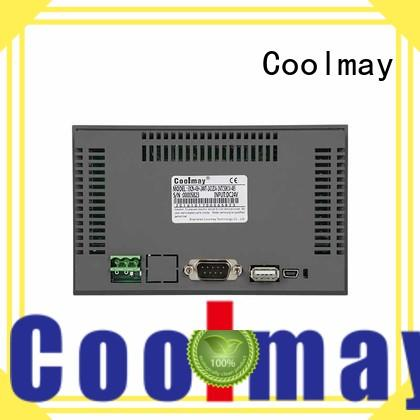 coolmay tft hmi odm for textile machinery