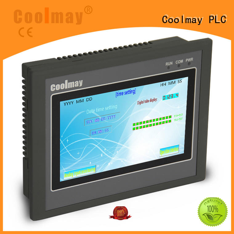Coolmay hmi control panel factory directly for packaging machinery