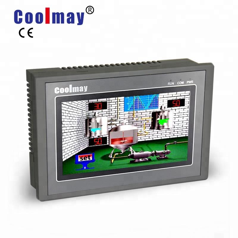 Coolmay popular hmi screen factory directly for injection molding machinery