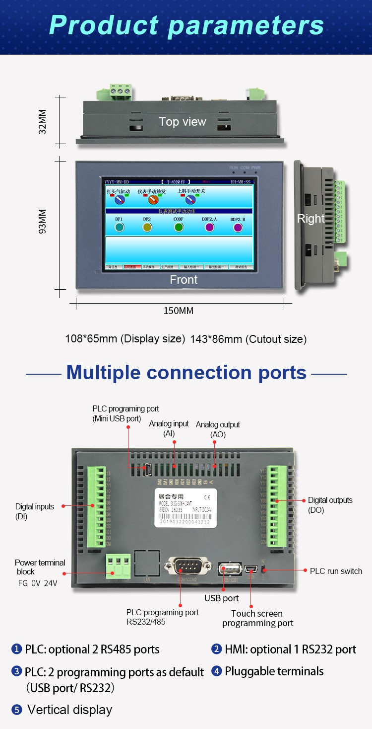Top plc circuit shipped to United States for environmental protection engineering-2