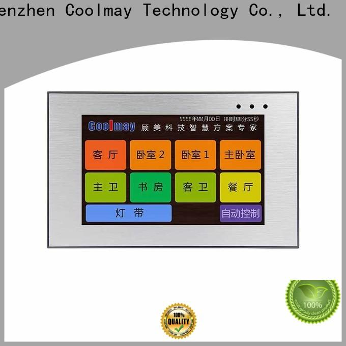 Coolmay web hmi company for textile machinery