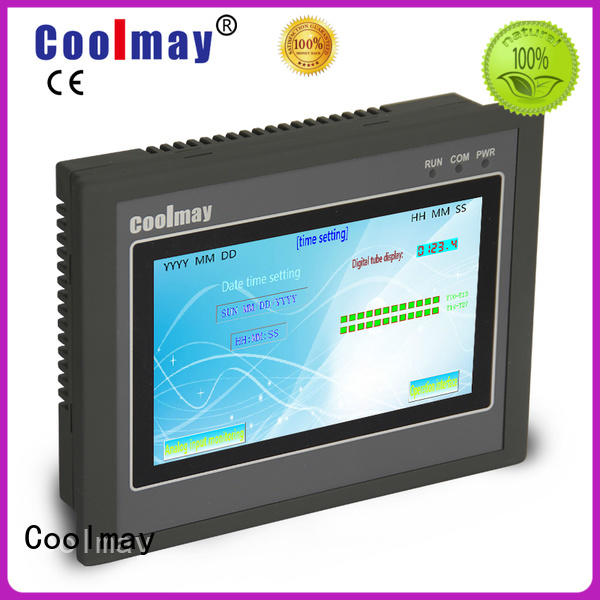 Coolmay hmiplc plc panel manufacturing for textile machinery