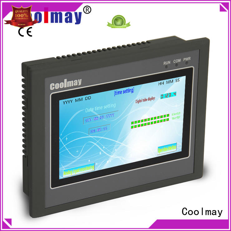 Coolmay programming plc panel oem for packaging machinery