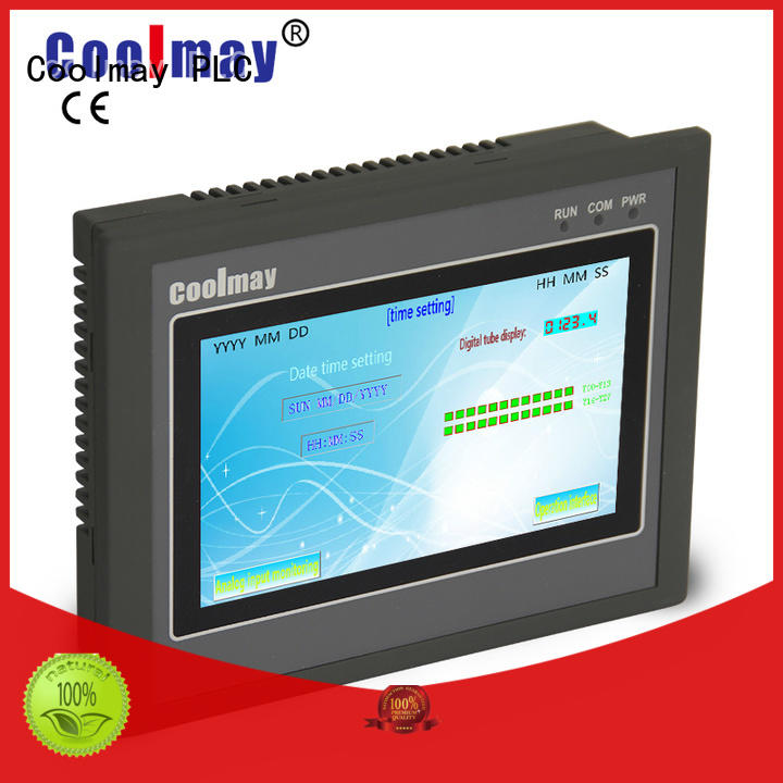 Coolmay hmiplc hmi control panel solutions for printing machinery