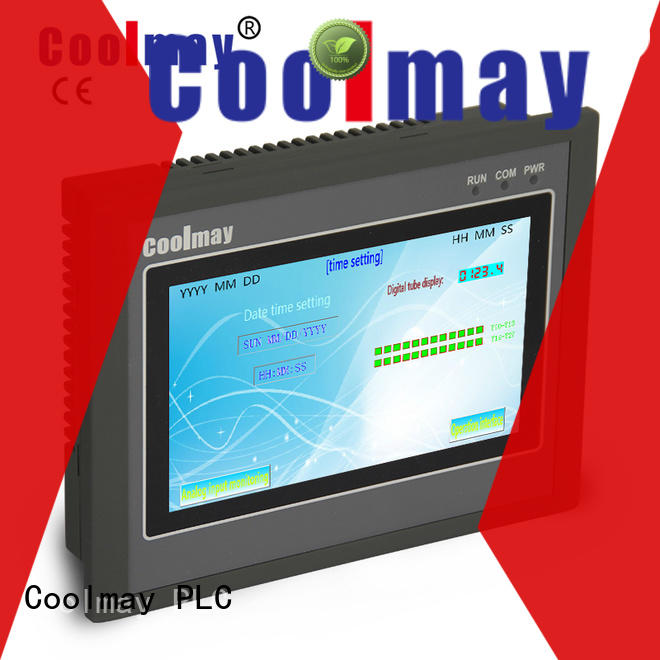 Coolmay programming plc panel solutions for textile machinery