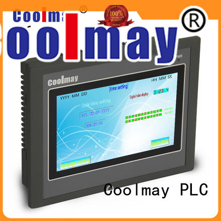 Coolmay hmi plc integrated for business for textile machinery